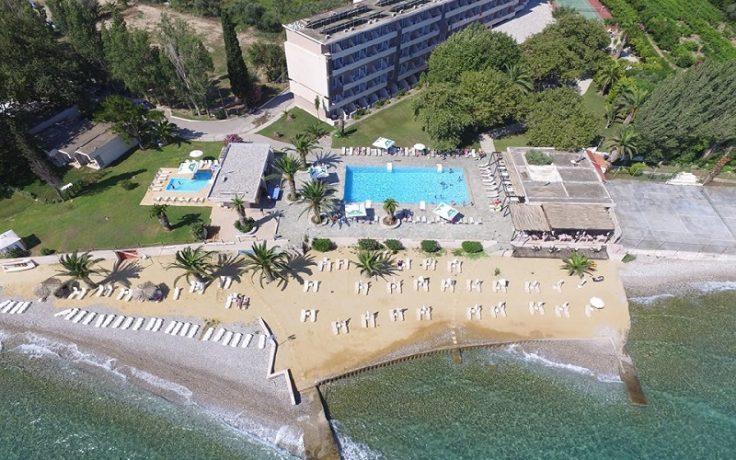 Long Beach Hotel Loggos Greece