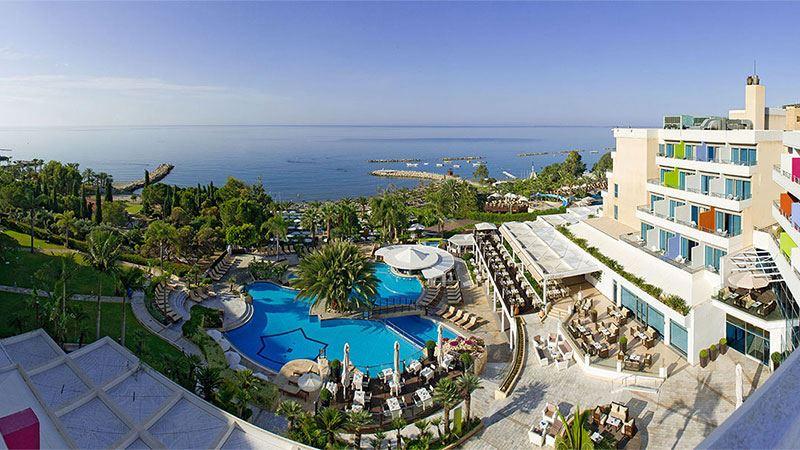 Mediterranean Beach Hotel Limassol Map