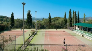 daphnila hotel with tennis court Corfu 19