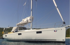 ionian islands yachting and tennis Oceanis48