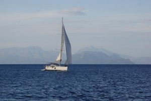 ionian islands yachting and tennis Sun Odyssey 50 DS