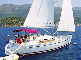 ionian islands yachting and tennis oceanis393-1
