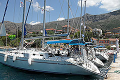 ionian islands yachting and tennis odysseus44-1